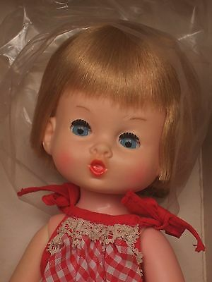 VHTF Chiltern doll in original box made in England lovely vintage doll