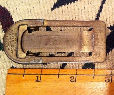 ANTIQUE VINTAGE 1930s F & U SAXOPHONE SAX REED CLIPPERS PATENT PENDING CHICAGO