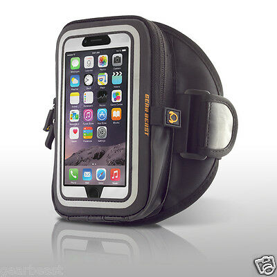 GearWallet Sports Armband Case Compatible Running Gym iPhone / Galaxy w Otterbox