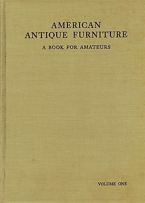 American Antique Furniture (1,086 Photos) / 1937 Scholarly Hardback Book Vol. 1