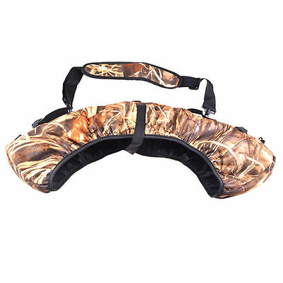 Tactical Hunting Compound Bow Bag Sling Carrier Holster Archery Arrow Case Pack
