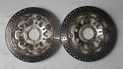 Honda Cbr 250Rr Mc22 Pair Oem Front Brake Disc Rotors