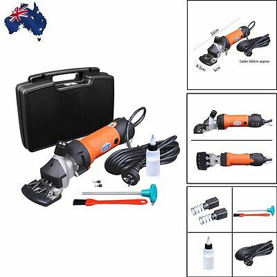 350w Sheep Goat Clipper Electric Shearing Machine Clipping Shears Grooming Set
