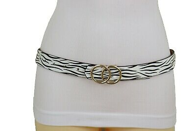 Women Antique Gold Metal Charm Vintage Fashion Belt Hip Waist Red Beads S M L