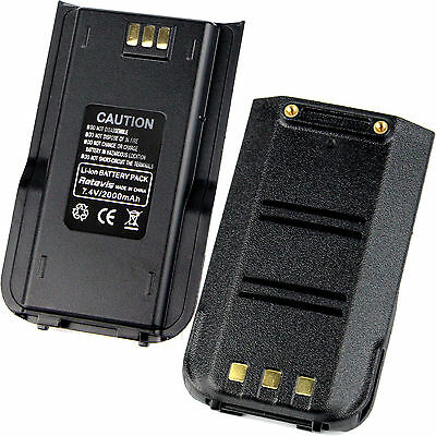 2pcs/pack 2000mAh Li-ion Batería for Retevis RT3 DMR Radio,2-Way Radio SpainShip