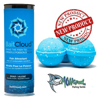 New Bait Cloud Burley Shad Game Fish Fishing Attract Fish All Rounder