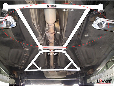For Vw Golf/rabbit Gti Mk2/3 83-99 Ultra Racing Middle Ladder Lower Support Bar