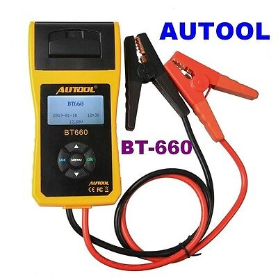 Cheap AUTOOL BT-660 Battery Tester BT660 12V Battery System Tester Free Upgrade