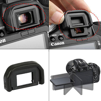 2 Rubber Viewfinder Cover DSLR Camera Eyecup Eyepiece For Canon EF 600D 550D 650