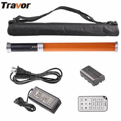 Travor MTL-900II 298-LED Video Light Magic Tube Handheld Lamp Bead Stick Remote