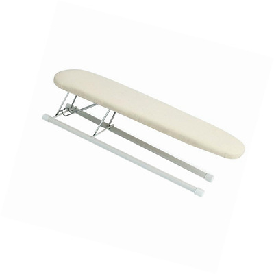 Household Essentials 120001 Small Tabletop Sleeve Ironing Board - Steel Top - Be