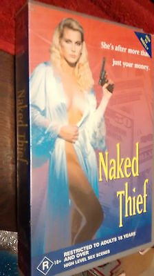 Naked Thief - Vhs Video - Rare R Rated Adult Movie Collectible