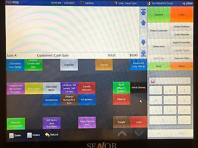 PBSA POS SYSTEM   Touch Screen   Software/Hardware   Printers   Scanner   Drawer