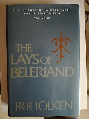 J.R.R. Tolkien: The Lays of Beleriand (The History of Middle-earth vol 3)