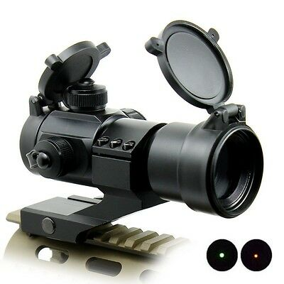 Tactical Red Dot Sight Scope Reflex Green Holographic Rifle Cantilever Mount Air