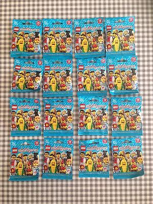 Lego minifigures series 17 (71018) complete unopened set x 16 new factory sealed