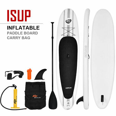 11' Inflatable Stand Up Paddle Board SUP w/ Adjustable Paddle Travel Backpack