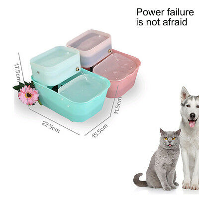Cat Dog Water Drinking Fountains Automatic Pet Water Bowl