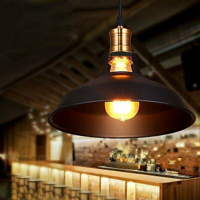 Classic Vintage Industrial Pendant Lights Retro Metal Indoor Home Lamp For Room