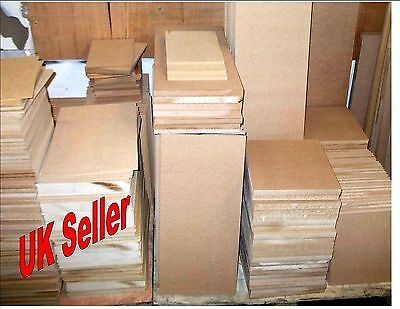 3 x 4mm Thick MDF. A3 420mm x 297mm Medium Density Fibreboard. Laser safe Crafts