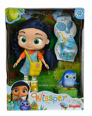 """Wissper 8.5"""" Doll  and Peggy figure"""