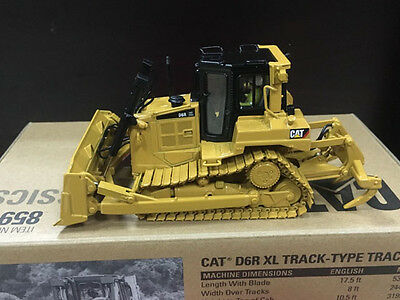 Caterpillar Cat D6R XL Track-Type Tractor 1/50 DieCast By DieCast Masters 85910