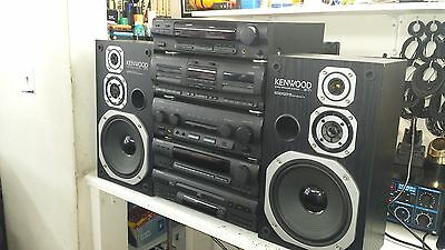 Kenwood Hi-Fi 5 Separate System Stack X-47 GE-470 T-47L A-47 DP-470 S-71