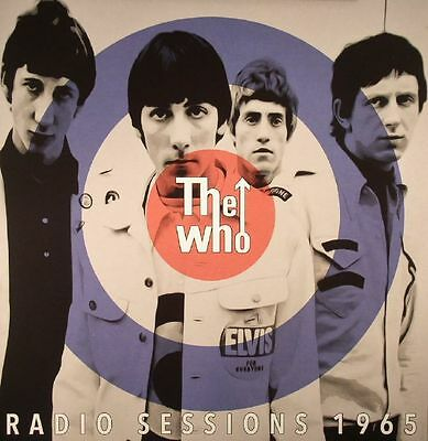 """WHO, The - Radio Sessions 1965 - Vinyl (limited numbered blue vinyl 10"""" LP)"""