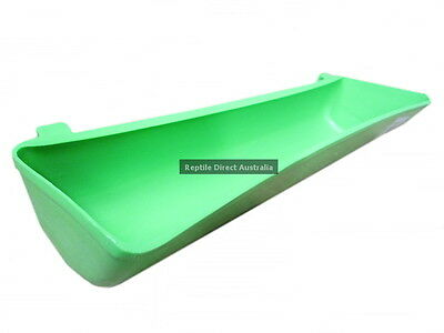 Chicken Bird Plastic Feed Water Trough 15, 24 or 36cm poultry feeder cup food