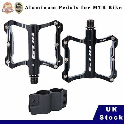 Bicycle Pedals Sealed Bearing Aluminum Extruted Platform Flat For Road Bike MTB