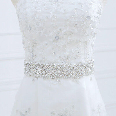 Bridal Sash Belt Rhinestone Dress Sash Prom Sash Wedding Sash Belt Ivory Sash