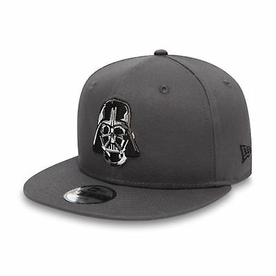 New Era Kids Essential 9FIFTY Star Wars Darth Vader Cap Graphite One Size  Youth 4f1b8d1dccd8