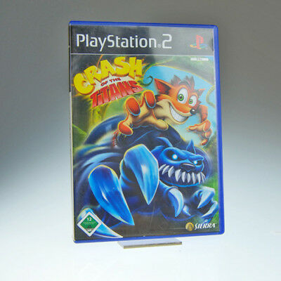 Sony Playstation PS2 - Spiel | Crash of the Titans | inkl. OVP | gut