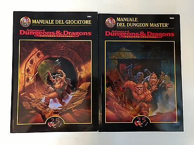 Advanced Dungeons & Dragons - Manuale del Giocatore + Manuale del Master