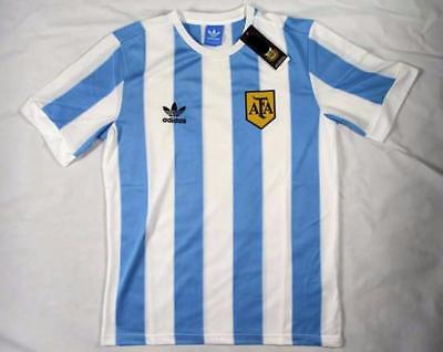 1978 Argentina home retro soccer football shirt jersey kit