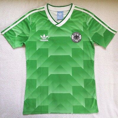 1990 West Germany Away retro vintage soccer football shirt jersey kit