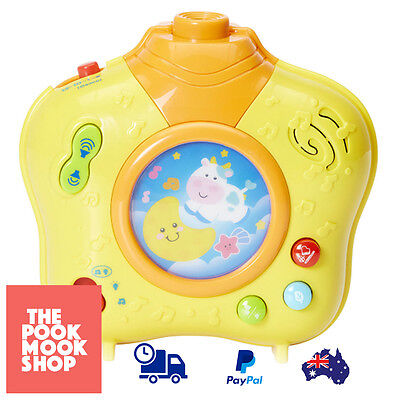 Dreamland Soothing Projector Toy Baby Night Light Sounds Nursery Musical Lightup