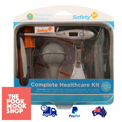 Complete Healthcare Kit Care Nursery Grooming Infant Health Newborn Medical Care
