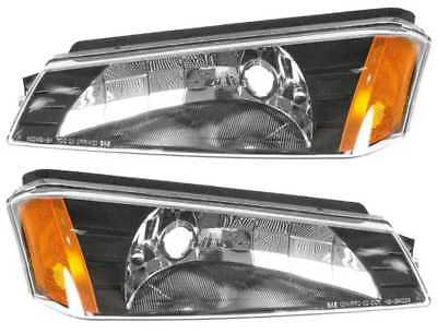 FRONT PAIR PARK SIGNAL LIGHTS W LIFETIME WARRANTY fits CHEVY AVALANCHE 1500 2500