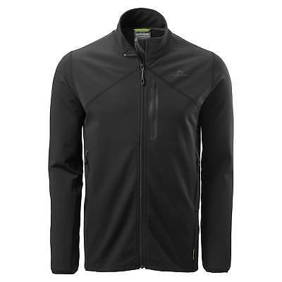 Kathmandu Escarpar Mens Softshell Slim Fit Stretch Hiking Fleece Jacket v2 Black