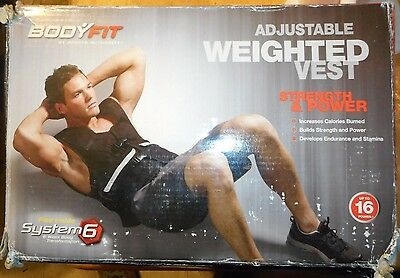 SPORTS AUTHORITY BODY FIT ADJUSTABLE WEIGHT VEST 16 lbs (POUNDS) new in box