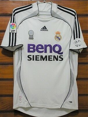 2006-2007 Real Madrid home retro classic soccer football shirt jersey kit
