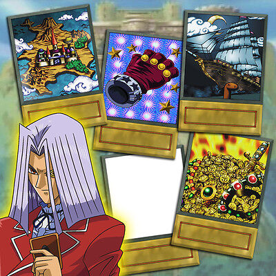 Yu-Gi-Oh! Custom Anime Orica - INVITATION TO DUELIST KINGDOM - 5 Card Set