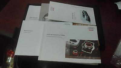 Audi A8 (A8L) Owner's Manual, w/ sleeve, 2005