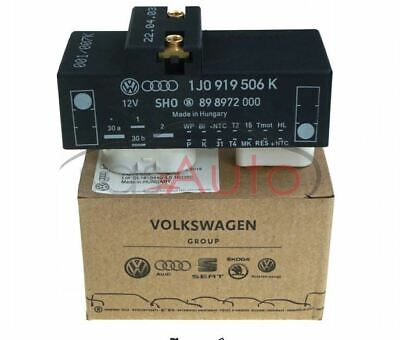 COOLANT FAN CONTROL UNIT  for Audi, Seat, Skoda, VW 1J0 919 506 K