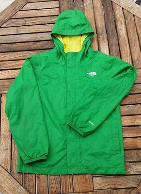 The North Face HyVent Waterproof Rain Coat Jacket Boys Youth Size Large 14-16