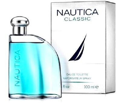 NAUTICA CLASSIC Cologne Perfume For Men 3.4 oz Eau de Toilette Spray NEW IN BOX