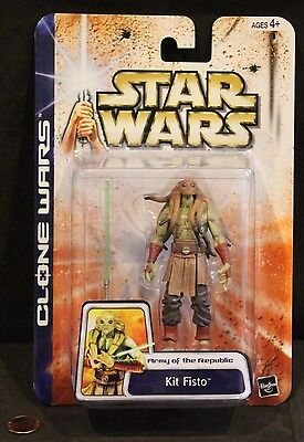 Star Wars Saga, Clone Wars Army of the Repuiblic Action Figure, KIT FISTO