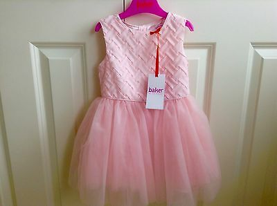 lovely REDUCED  Baker Pink Layered Dress 18-24 months