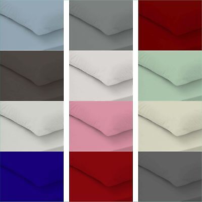 5* 400 Thread Count 100% Egyptian Cotton Fitted Sheet Flat Sheet All Uk Sizes